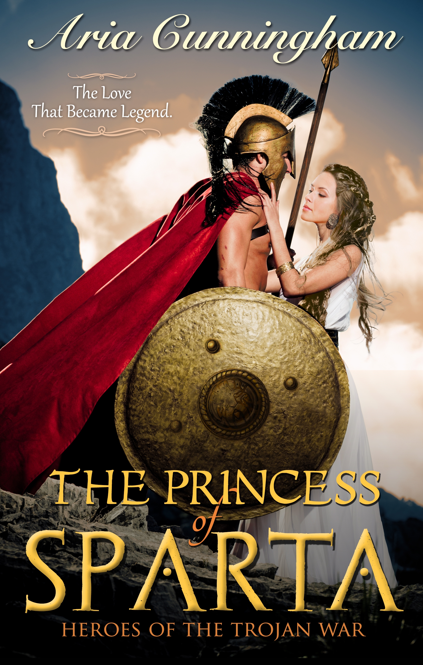 The Princess of Sparta Book Cover